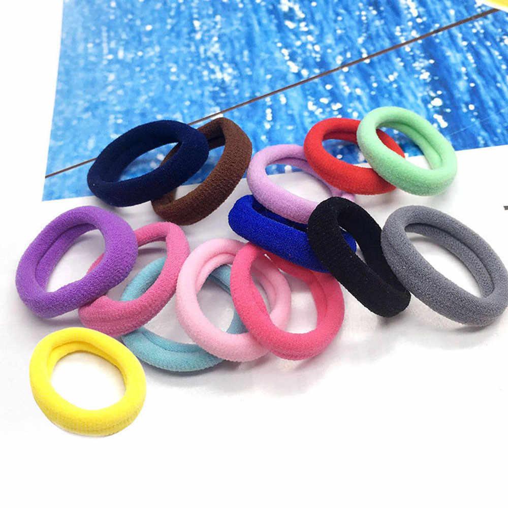 10 pièces femmes cheveux bandeau cravates corde anneau élastique bandeau élastique pour queue de cheval nouvelles coiffures pour filles cheveux accessoires Scrunchy bandeau