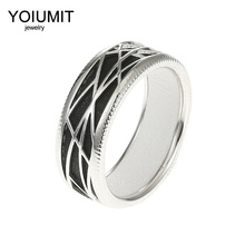 Cremo Linetype Vintage Rings For Women Accessory Yoiumit Hollow Simple Geometric Bague Cuir Reversible Ringen DIY Bijoux