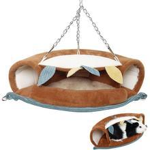 Hammock Hamster Hanging-Cage Tunnel Bed-Ferret Bird-Squirrel Rat Hut Parrot-Supplies