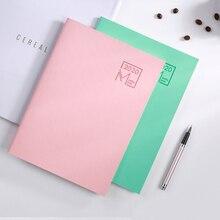 Блокнот для записей, школьные офисные принадлежности, студенческие канцелярские принадлежности, дневник, ежедневник, календарь для подарка, 48 листов