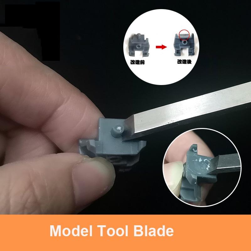 Metal Big Blade / Big Push Knife Model Detail Modification Tool Detail Removal