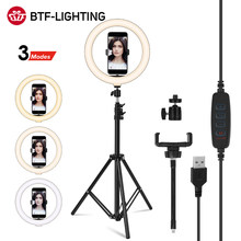 Led Selfie Ring Licht Invullen 6 10 14Inch 16 26 36Cm Dimbare Foto Make-Up Video Camera Lamp Met telefoon Houder Live Youtube Tiktok