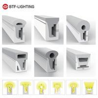 WS2812B WS2811 LED tubo de cuerda de neón Gel de sílice 1m 2m 3m 4m 5m tira Flexible luz suave tubo de la lámpara IP67 impermeable para la decoración
