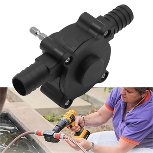 Portable Electric Drill Pump Diesel Oil Fluid Water Pump Mini Hand Self-priming Liquid Transfer Pumps Home Garden Outdoor tool