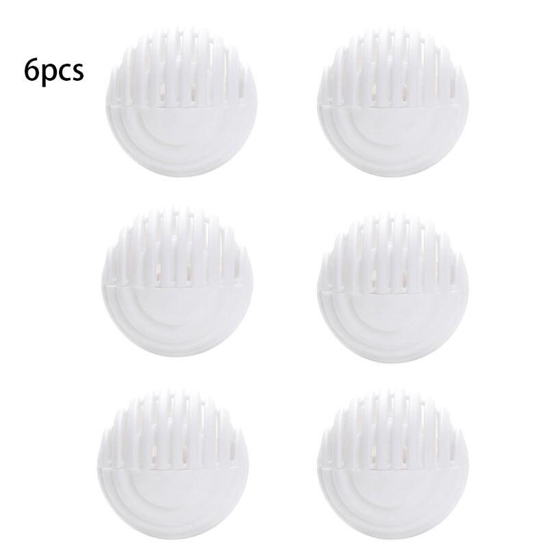 6pcs Mini Ball Shape Shoe Deodorant Dryer Moisture Absorber Antimildew Bactericidal Wardrobe Drawer Bathroom Car