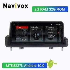 Navivox Android 10.0 Car radio GPS Navigation for BMW 3 serise E90 E91 E92 E93 2005 2006 2007 2010 2011 2012 2009 NBT System