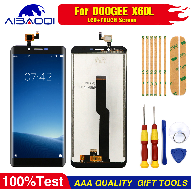 Touch-Screen Disassemble-Tool Adhesive Lcd-Display Doogee X60l Original Replacement-Parts