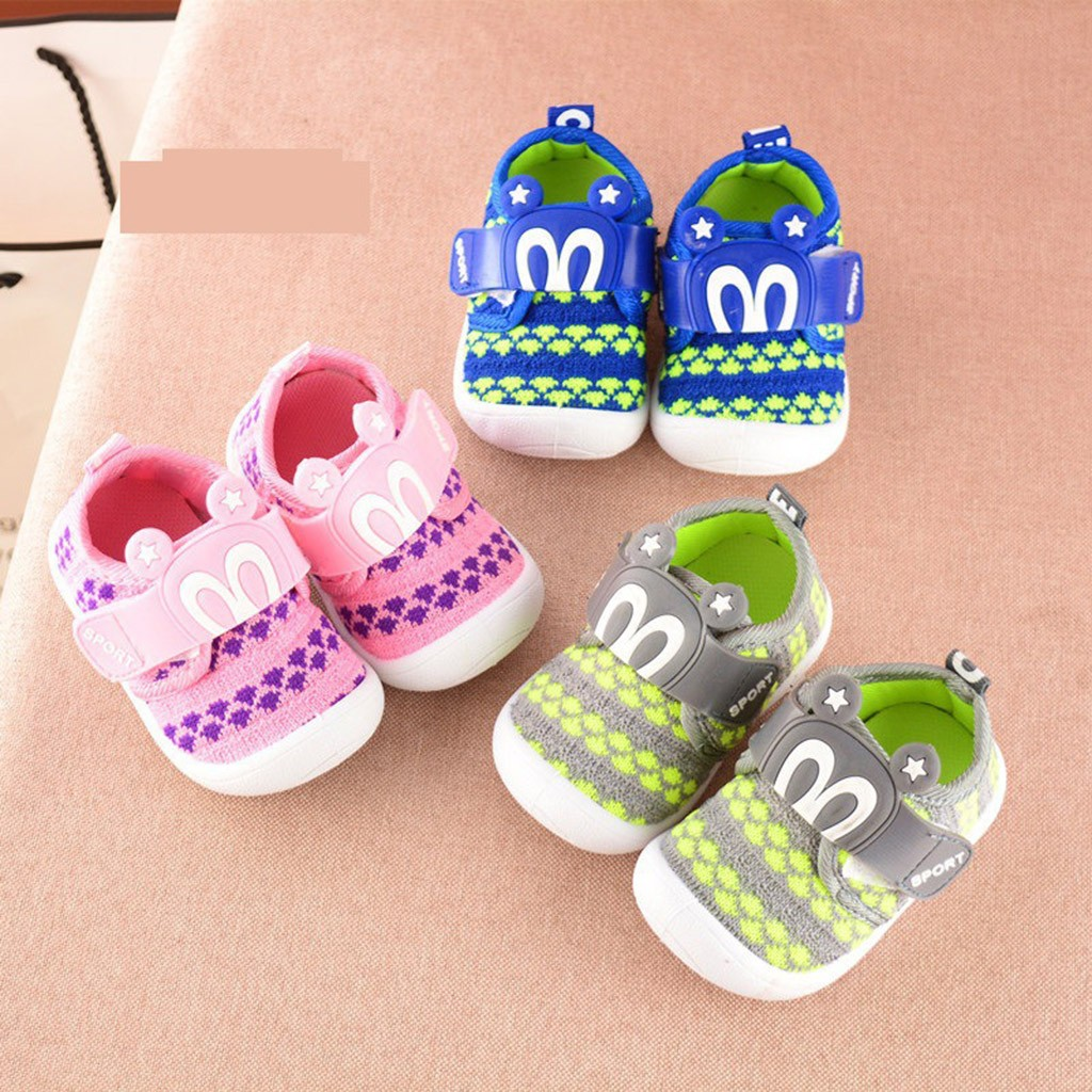 Baby Shoes For Babies Unisex Toddler Children Kids Cartoon Star Rabbit Ears Squeaky Single Shoes Sneakers Baby Bebek Ayakkabi