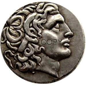 Image 4 - G(01) G(49) mezcla antigua griega 52 Uds monedas de copia chapadas en oro/plata diferentes