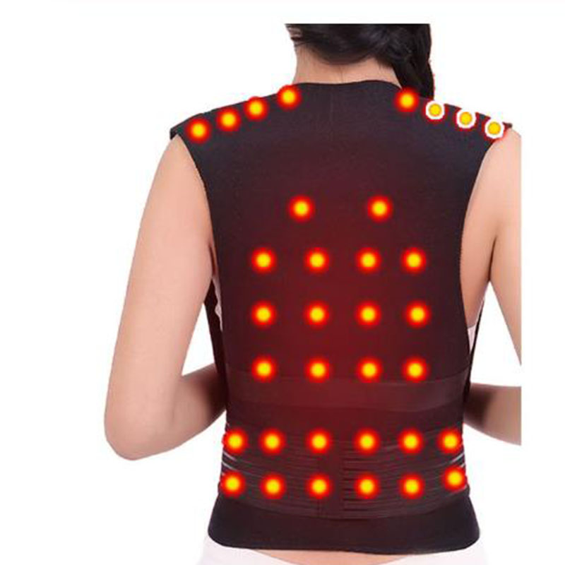 Tourmaline Self-heating Brace Support Belt Back Posture Corrector Spine Back Shoulder Lumbar Posture Correction