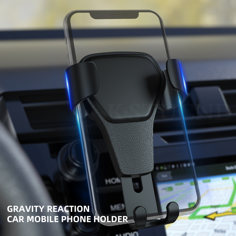 Gravity Bracket Car Phone Holder Flexible Universal Car Gravity Holder Support Mobile Phone Stand For IPhone 7 Xr Xs Max Samsung