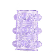 Penis Sleeve for Adult Sex Toys Reusable Condoms for Men Penis Enlargement Condoms with Spike Contraception Intimate Goods