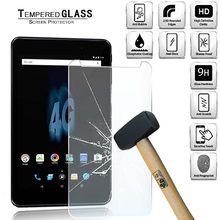 Capa de protetor de tela de vidro temperado tablet para allview viva h802 lte 9h à prova de explosão temperado filme protetor