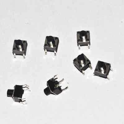 20Pcs Tactile Push Button Switch Tact Switch 6X6X9mm 4-pin DIP Diy Electronics