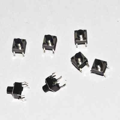 20Pcs Tactile Push Button Switch Tact Switch 6X6X9mm 4-pin DIP Diy Electronics