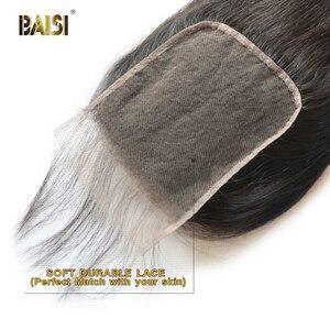 Image 5 - BAISI Lockige Bob Perücke 13x6 Spitze Vorne Perücke Brasilianische Menschliches Haar mit Natürlichen Haaransatz Baby Haar Hohe Dichte perücken für Schwarze Frauen