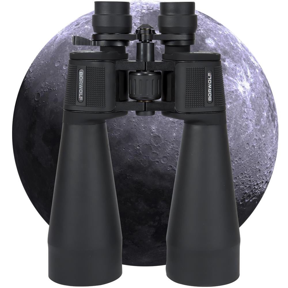 2020 NEW Borwolf  20-60X70 Binoculars  High Magnification HD Professional Zoom High Clear Telescope Military Light Night Vision 1