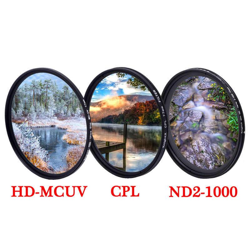 Multithreaded Glass Filter C-PL for Nikon D70 Multicoated 58mm Circular Polarizer