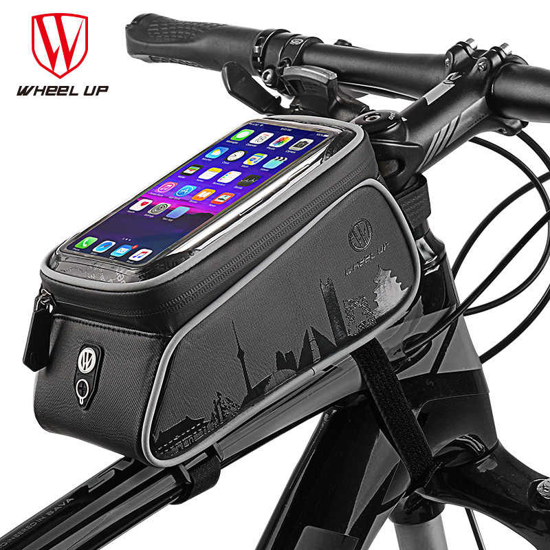 WheelUp Waterproof MTB Bicycle Bike Mount Phone Holder Case Bag Pouch for Mobile