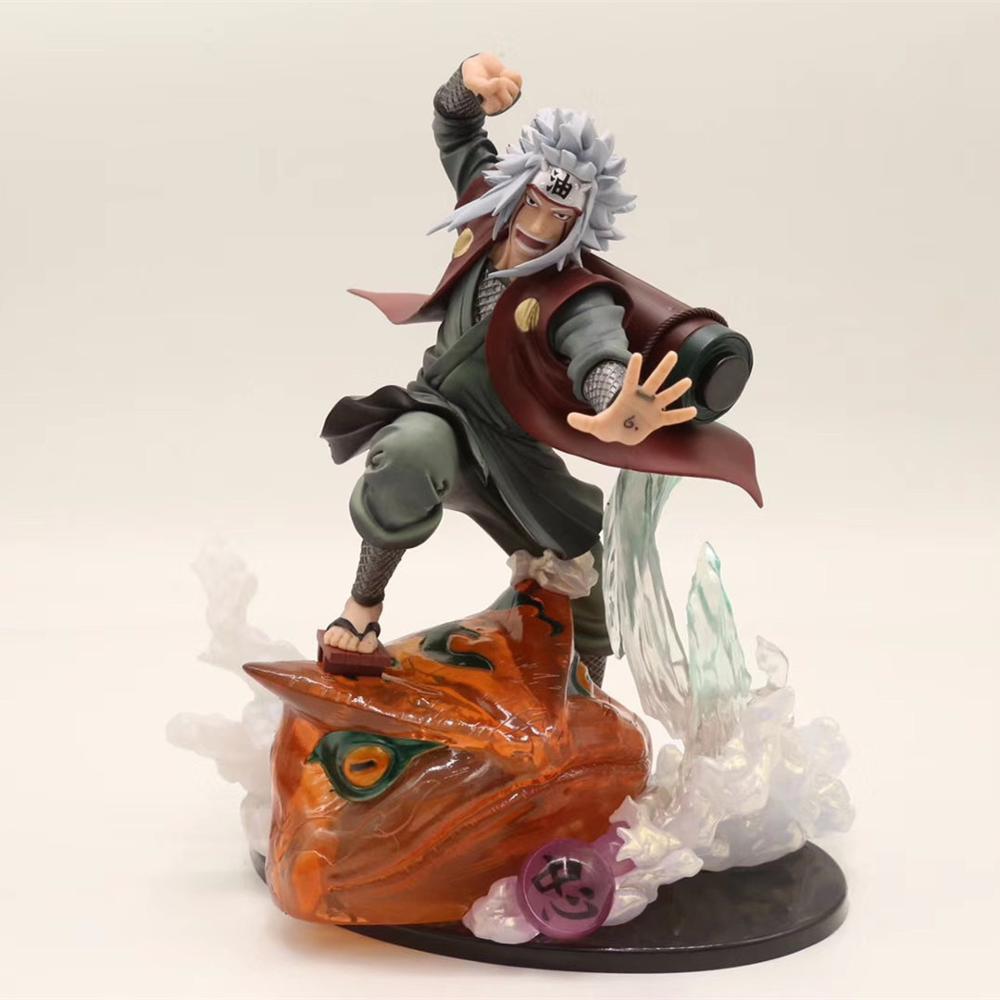 Naruto Jiraiya Gama Sennin PVC Action Figure Toy Diorama Naruto Shippuden Anime Jiraiya Collectible Figurine Model Toys