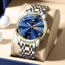 Belushi Classics Watch Quartz Watches Men Luxury Brand Watch Men Waterproof  Stainless steel Gold Date Clock relogio masculino
