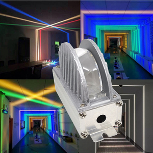 Светодиодный настенный светильник 5 Вт на windows sill освещение теплый белый красный зеленый синий RGB водонепроницаемые наружные декоративные ф...