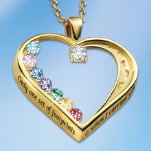 Gold Statement Heart Necklace Women Fashion Multi-color Austrlia Crystal Wedding Necklaces Bridal Gifts Female Jewelry 2020 New