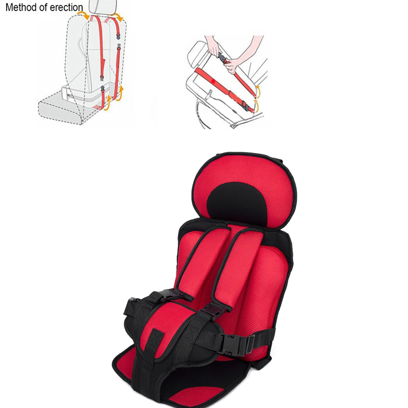 Childseat Baby Safe Seat Mat Portable Baby Toddler Simple Car Safety Seat Baby Chairs Thicken Sponge Kids Car Stroller Seats Pad