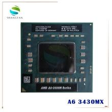 AMD A6 3400M Series A6 3430MX A6 3430mx AM3430HLX43GX cpu APU with Radeon HD 6520G Graphics Quad Core processor A6 Series