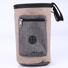 Pet Dog Training Treat Bag Snack Carrier Outdoor Pet Food Pockets Drawstring Closure Pouch new dog snack catapult launcher dog cat treat launcher snack food feeder catapult pet interactive training toys