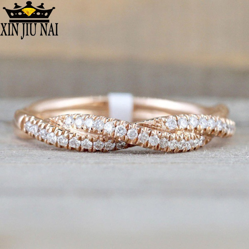 Popular 925 Anillos Silver Ring Knot Finger Rings For Women Wedding Christmas Gift Anillos Silver Personalized 14k Jewelry
