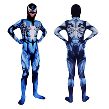 Хэллоуин супергерой взрослых детей Веном костюм мальчики косплей костюмы комбинезон боди костюм маска для взрослых детей