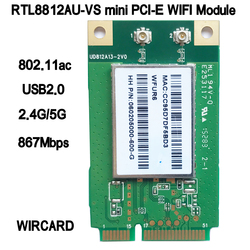 RTL8812AU-VS WFUR6 1200 dual להקת 2.4GHz + 5GHz wireless-n 802.11AC USB WIFI כרטיס