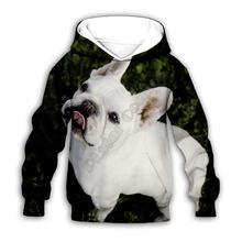 Толстовки с забавной собакой и 3d принтом семейный костюм футболка
