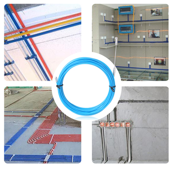 Wheel Pushing Wiring Install Electric Cable Puller Guide Device Conduit Rodder Pulling Fish Draw Tape Reel Ducting image