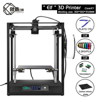 Creativity CoreXY ELF Double z axis 3D Printer High Precision Aluminum Profile Frame Support BLTOUCH TMC2208 Remote BMG TMC2208