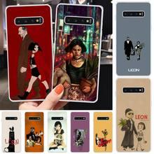 Leon Matilda Natalie Portman TPU Soft Phone Cover For Samsung S6 S7 S7 edge S8 S8 Plus S9 S9 Plus S10 S10 plus S10 E(lite) medicine nurse doctor dentist soft edge phone cases for samsung s6 edge plus s7 edge s8 s9 s10 plus lite e note8 note9 cover