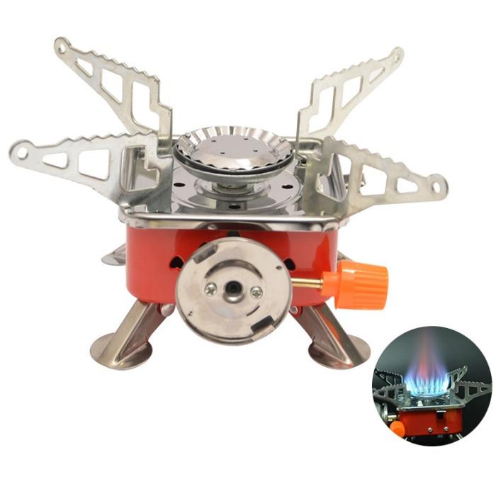 fogão anti-deslizamento apoio braços forte poder de fogo butano combustível