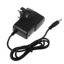 Импульсный источник питания переменного тока 100-240 В в постоянный ток 9 в 1 а адаптер преобразователя штепсельная вилка Великобритании R9UA