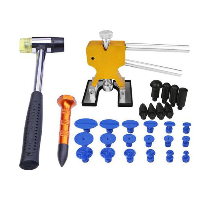 SHGO HOT-Tools Paintless Dent Removal Dent Removal Paintless Dent Puller Auto Repair Tool Glue Tabs Hail Repair Tools Type-2