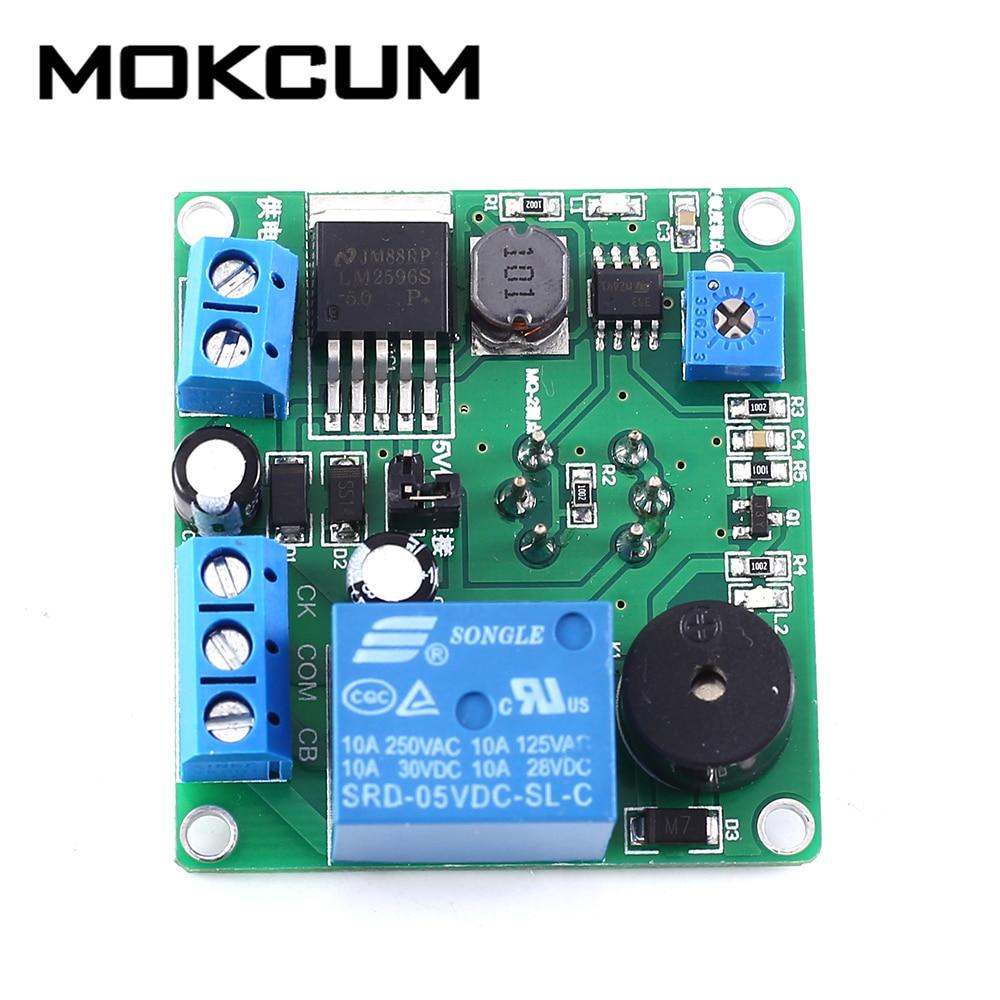 MQ-2 Smoke Sensor Module Smoking Detector Alarm Relay Switch Controller 12V 24V