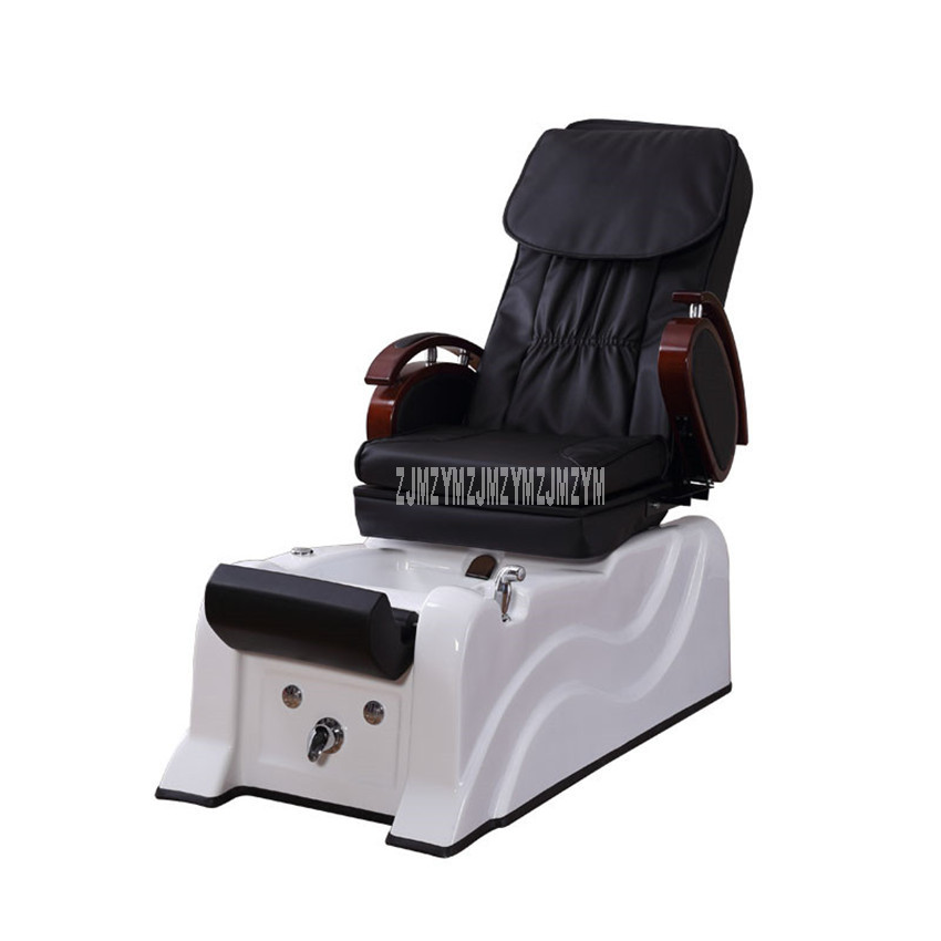 Electric Foot Bath Spa Washing Sofa Chair With Massage Function Soft PVC Leather Foot Hydrotherapy Footchair Reclining Chair