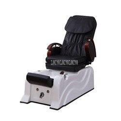Elektrische Voetenbad Spa Wassen Sofa Stoel Met Massage Functie Zachte PVC Lederen Voet Hydrotherapie Footchair Ligstoel