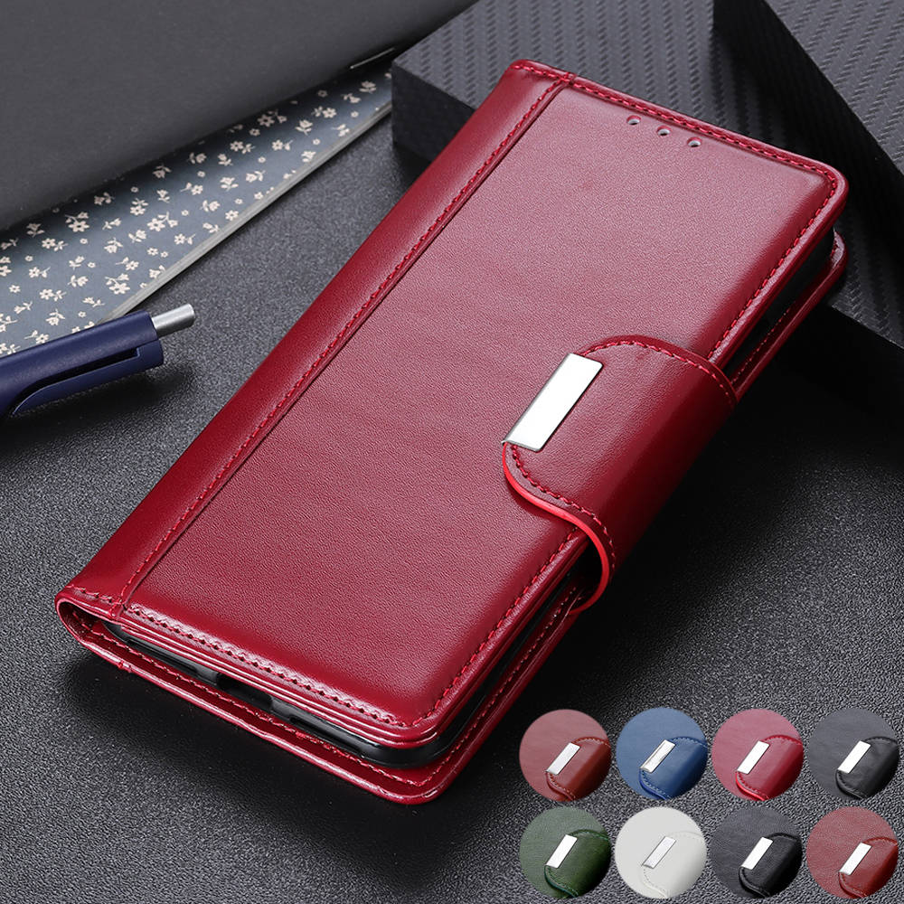 Business Magnetic Leather Wallet Case for iPhone 11/11 Pro/11 Pro Max