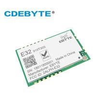 Ebyte E32-915T30S SX1276 LoRa Module SMD 915MHz UART 30dBm 1W Long Range 3.3V TTL IPEX Stamp Hole Interface Antenna Wireless RF