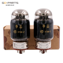 Shuguang Treasure KT88 Z Vacuum Tube Replace 6550 KT88 Black Carbon Bulb Classic Edition Factory Matched Pair Quad