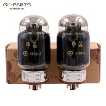Shuguang hazine KT88 Z vakumlu tüp yerine 6550 KT88 siyah karbon ampul klasik baskı fabrika eşleşti çift dört