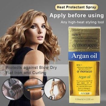 Super 120ml  100% Natural Organic Morocco Argan Oil Hair Care Scalp Essential Oil For Repairing Dry Damage Hair Treatment 2