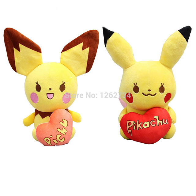 10/Lot Lovely Pikachu Pichu 20-23CM Plush Doll Figure Toy