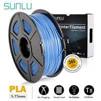 3d printer filament free ship PLA Platic SUNLU top 3D Printer Filament 1.75mm 1kg Accuracy +/ 0.02mm Metal 26 Color optional